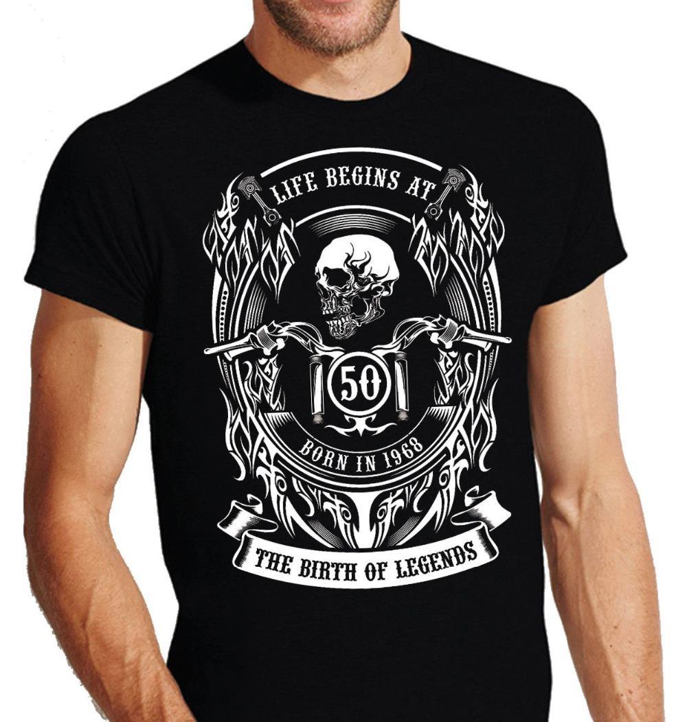 Compre Camisetas Divertidas Camiseta Con Cuello De Pico Totenkopf