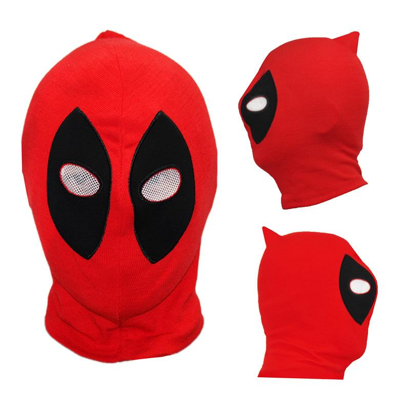 New PU Deadpool Masks Superhero Balaclava Halloween Cosplay Costume X-men Hats Headgear Arrow Party Full Face Mask