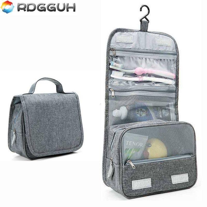RDGGUH Portable Cosmetics Bag Hanging Cosmetic Bag Organizer For The Bathroom  Shower Toiletry Washing Travel Kit Make Up Bags Makeup Storage Travel Bags  ... 3bd6ad2333629