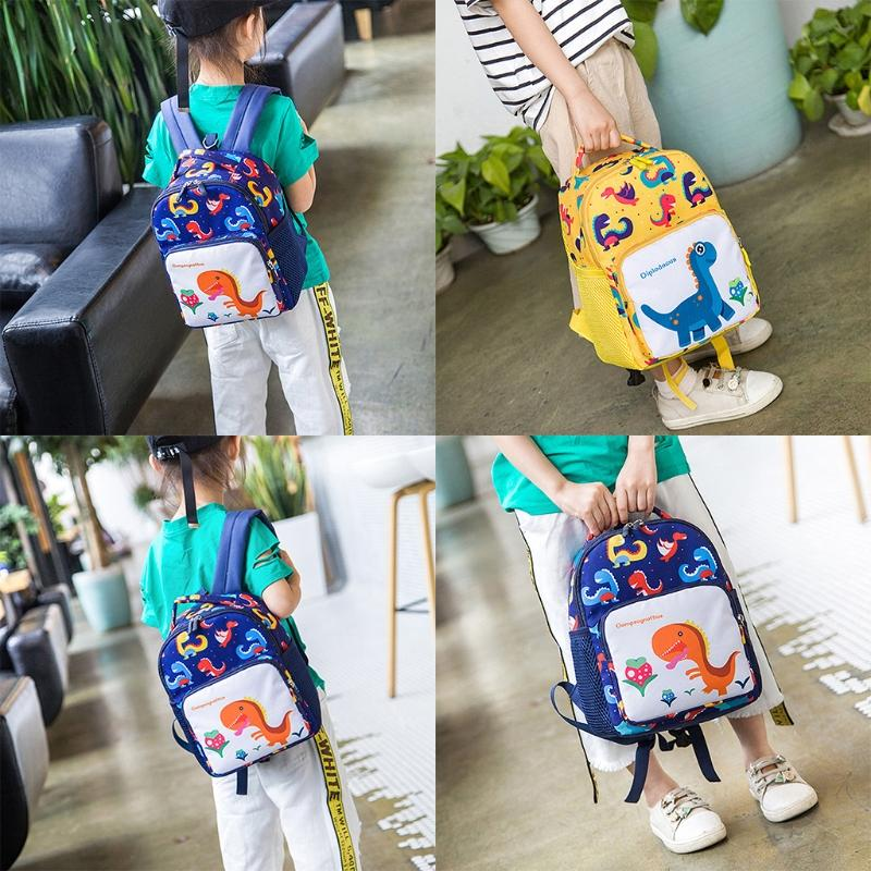 21e9da326711 Toddler Backpack Anti Lost Band Kids 1030C Children Cartoon Dinosaur Print School  Bag Swiss Backpack Laptop Rucksack From Chingkee