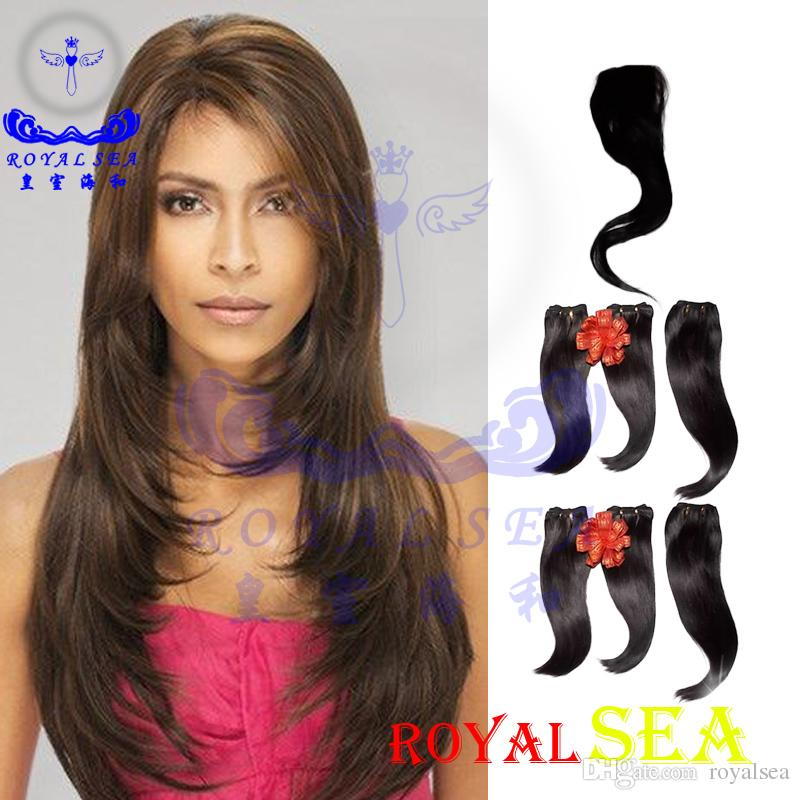 2018 Strong Weft 34 Inch Straight Hair Weaveshedding Free Egypt