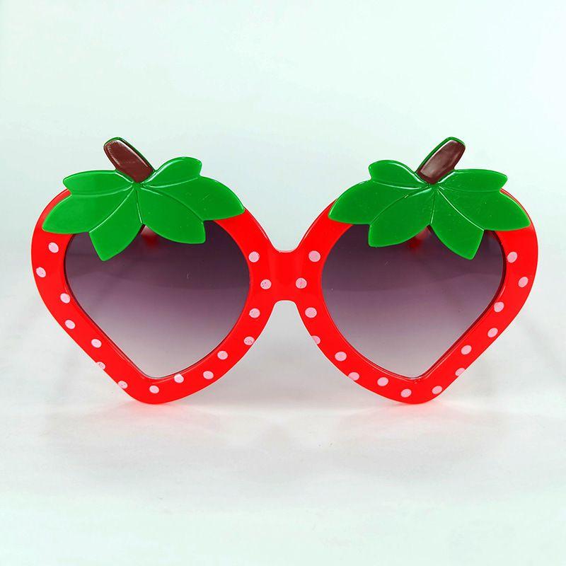 ee2a7e367b7 Strawberry Modeling Eyewear Brand Designer Sunglasses Adjustable Fashion  Cartoon Cute Decorate Glasses Full Frame For Kids Gift 4lk Jj Tifosi  Sunglasses ...