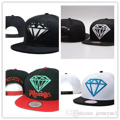 Cool New Snapback Hats Ball Caps Blank Hat Diamond Cap Hats Baseball Caps  Basketball Snapbacks UK 2019 From Jerseyse1 f87cdb4cc0d5