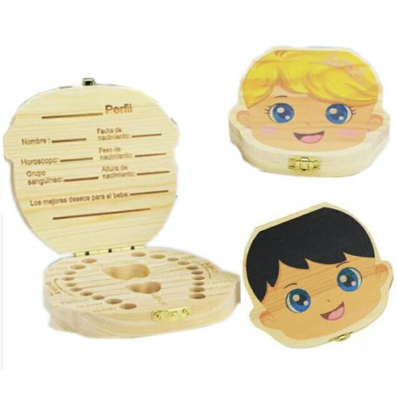 Satın Al Renk Boyama Bebek Diş Kutusu Kız Erkek Görüntü çocuklar Süt