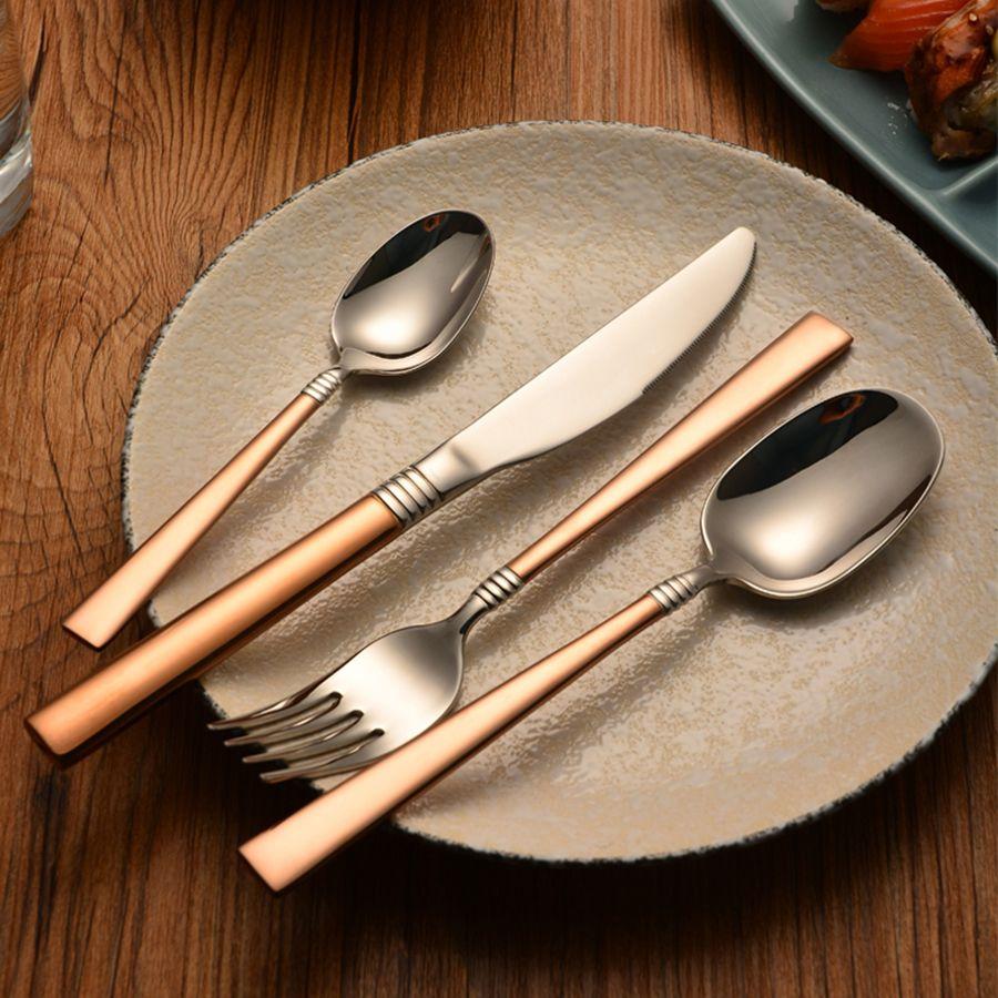 2019 Vintage Kitchenware Set Spoons Fork Kinfe Kitchen Dinner Accessories  Utensils Aparelho De Jantar Gold Cutlery Set QQA241 From Goutour, $30.28 |  DHgate.