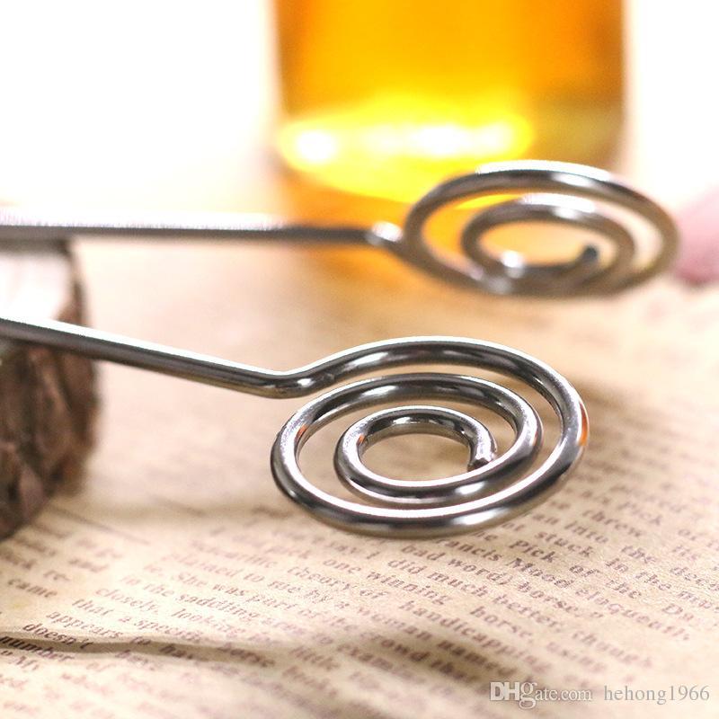 Praktische Langstiel Edelstahl Honigbiene Rühren Kreative Flüssigkeit Kaffee Muddler Entsafter Mixer ECO Freundliche Eiermischer Stange 2yd Z