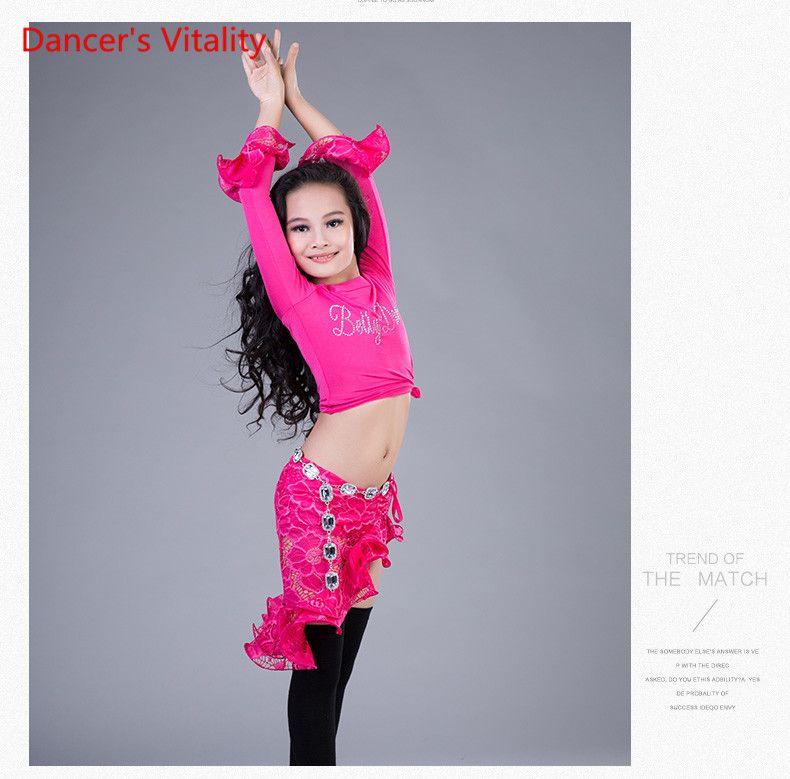 Chica Acampanada Moda Manga Danza Vientre Niño Compre Del De UzpMSqV