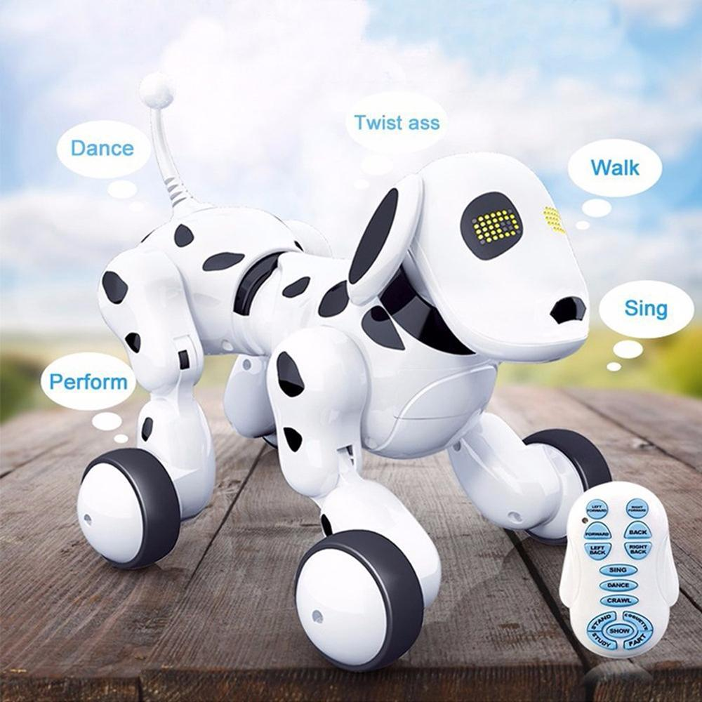 NEW Electric Radio-controlled Toys Remote Control Intelligent Robot Dog  Early Education Puzzle Kids Toys Speelgoed Dansen Robot