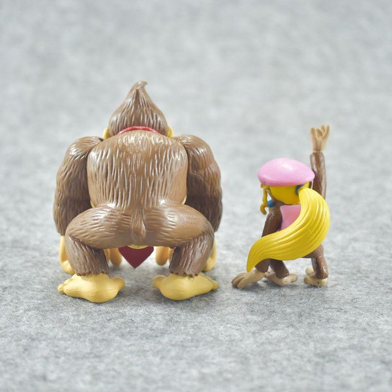 Super Mario Bros Luigi Mushroom Toad Princess Action Figure Miniatures Garage Kit Fun PVC Gift Toys For Kid 22lt W