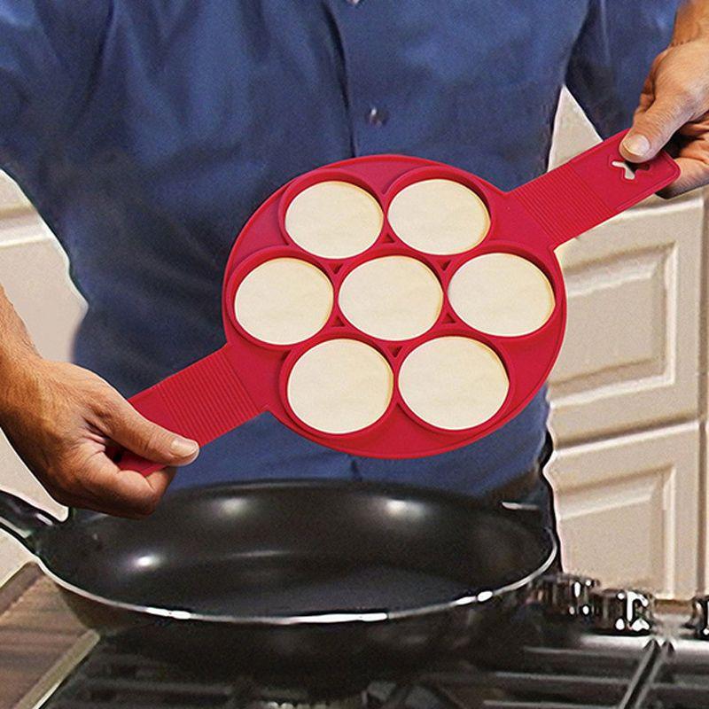 Grosshandel Silikonpfannkuchen Hersteller Ei Omelett Form