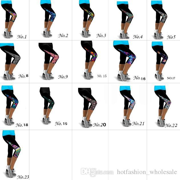 Sette sub pants Skinny Pany Vita alta a forma di pantaloncini da yoga Sport traspirante Pantaloncini Safe High Elastic Fitness Peso sciolto Shaper Bottom
