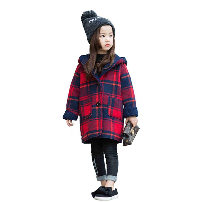 84a3688280e1 Winter Girls Warm Jacket 2018 Baby Girl Clothes Long Sleeve ...