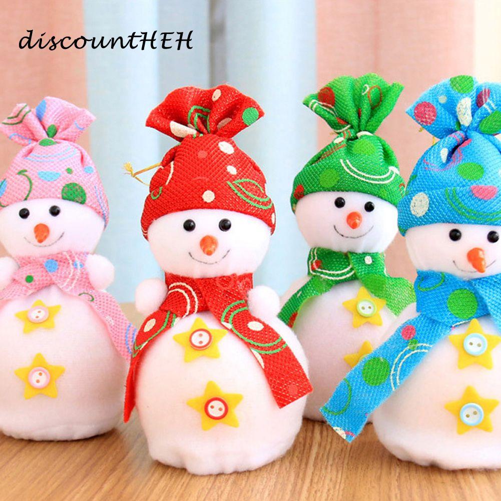 Großhandel Weihnachtsschneemann Geschenk Taschen Weihnachtsbaum ...