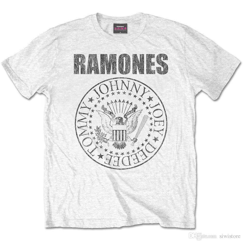 610ed6b0c The Ramones Presidential Seal White Official Merchandise T Shirt M/L/XL Neu  Retro T Shirts Tshirt Designs From Siwistore, $10.53| DHgate.Com
