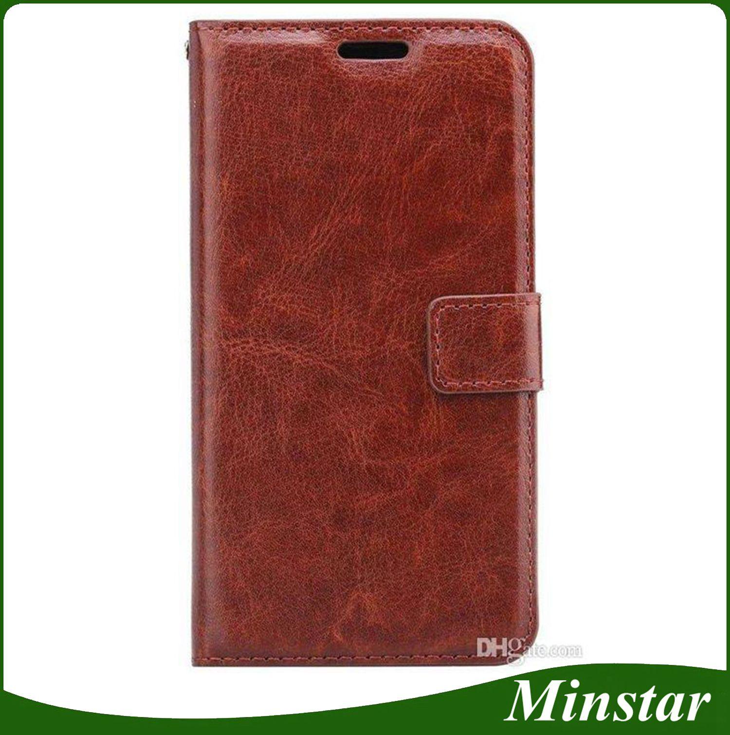2018 Newest Model Mobile Wallet Leather Case for ZTE Warp 8 N9517 Warp 7  Z981 ZMax Pro 2 Z982 LG Aristo 2 X210 Flip Magnetic Case