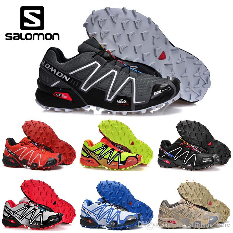 Red Lightweight 3 Shoes Mens Running Cs Salomon Speedcross Men Sand FlK1cJT