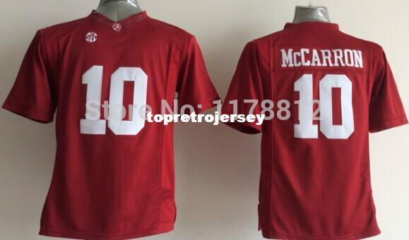 best website 0fe3b 5714b Factory Outlet- aj mccarron jersey youth/kids #10 alabama football jersey  red authentic ncaa cheap college football jerseys mix order