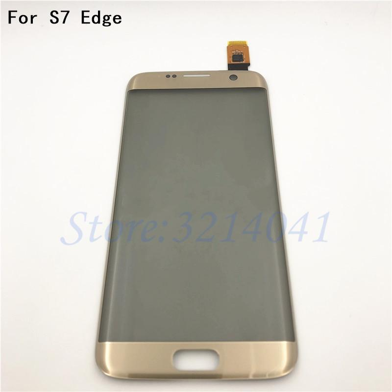 Original 5 5 inches Touch screen For Galaxy S7 Edge G9350 G935 G935F Touch  Screen Digitizer Sensor With Logo