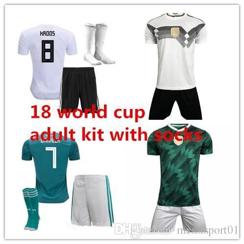 5e20fb250 Germany Soccer JerseyS 2018 World Cup Muller WERNER SHORTS OZIL ...