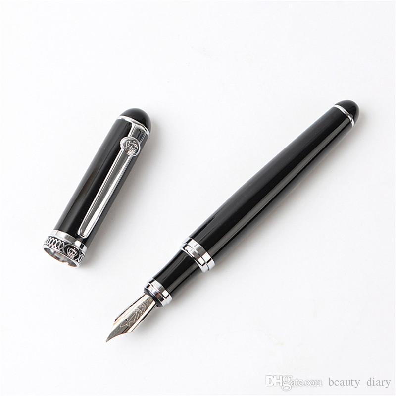 Германия duke-d2 D2 черный серебряный клип иридий авторучка каллиграфия бизнес офис подарок изгиб перо двойной перо pimio