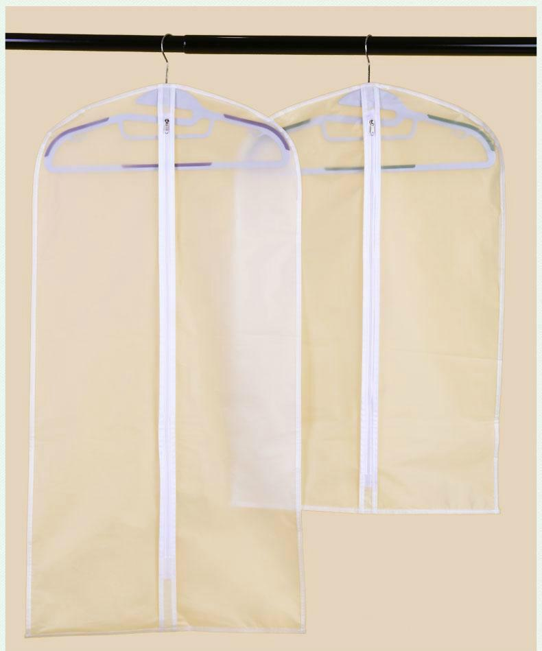 Wholesale Dust Cover No Logo Cheapest Wedding Dress Gown Bag Garment Cover  Travel Storage Dust Covers Bride Free Shipping Bridal Accessories