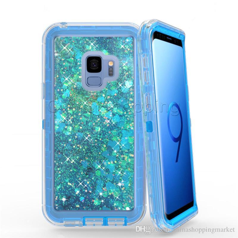 3 1 블링 반짝이 액체 무덤 케이스 크리스탈 케이스 커버 아이폰 11 프로 맥스 XR X가 8 7 6S 플러스 삼성 S10 플러스 S10 20 라이트 주 10