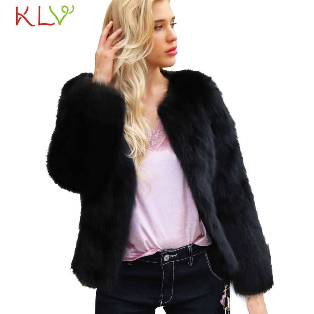Basic Jackets Women Jacket Winter Solid Warm Faux Fur Parka Long 2018 Plus Size Ladies Chamarra Cazadora Mujer Coat For Girls 18oct23