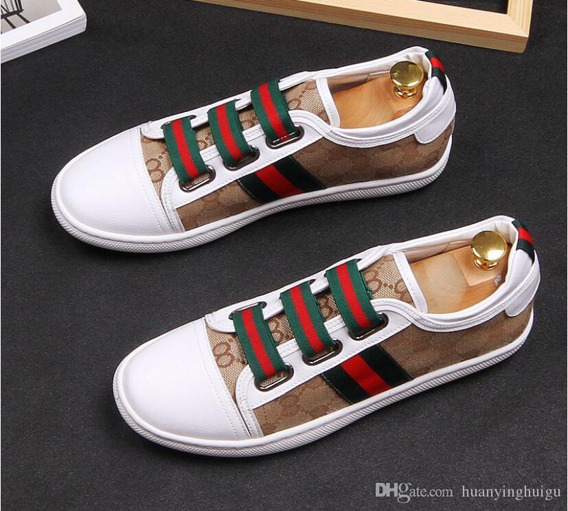 5bfbe6ce Compre 2019 Otoño E Invierno Hombres Mocasines Zapatos De Hombre Zapatos De  Encaje De Moda Masculina Zapatos De Cuero Genuino Planos Zapatos De Diseño  De ...