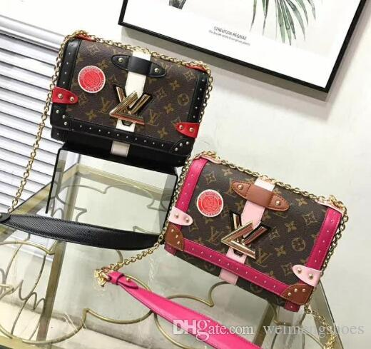 ebd060c3ce28 New Fashion Bags Women S Shoulder Bag Leather Handbags Luxurious Classic  Design Brand Woman Beautiful Chain Bag Ladies Handbags Leather Handbags From  ...