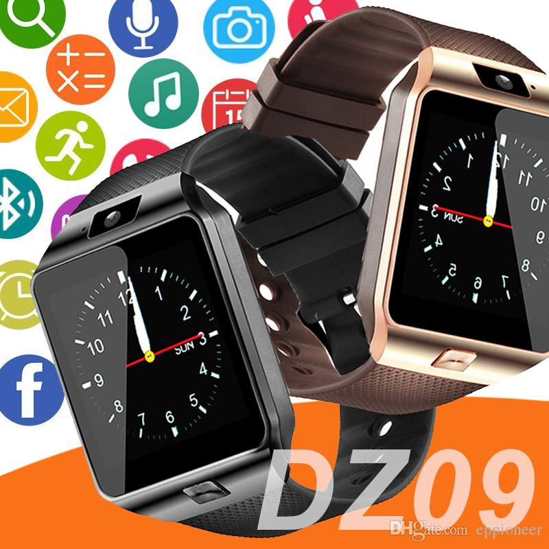 0a6a85fb21b DZ09 Smartwatch Android GT08 U8 A1 Samsung Smart Watchs SIM Intelligent  Mobile Phone Watch Can Record The Sleep State Smart Watch Smartwatch Best  Sport ...