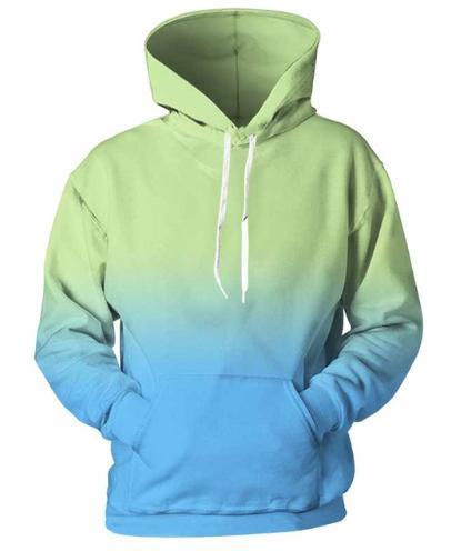 b10f41aa8a 2019 Cyan Blue Gradient Newest Fashion Men/Women Tops 3d Printing Hoodies  Sweatshirt Unisxe Funny Long Sleeved 3D Hoodies N22 From Zchaiwyq99, ...