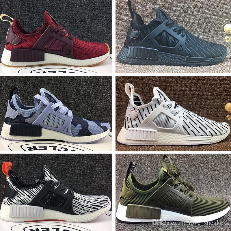 41d0b539c Großhandel Adidas Nmd Xr1 Basketball Shoes Großhandelsqualitäts Männer  Beschuht R1 Oreo Primeknit Og Dreifache Schwarze Weiße Camo Mann ...