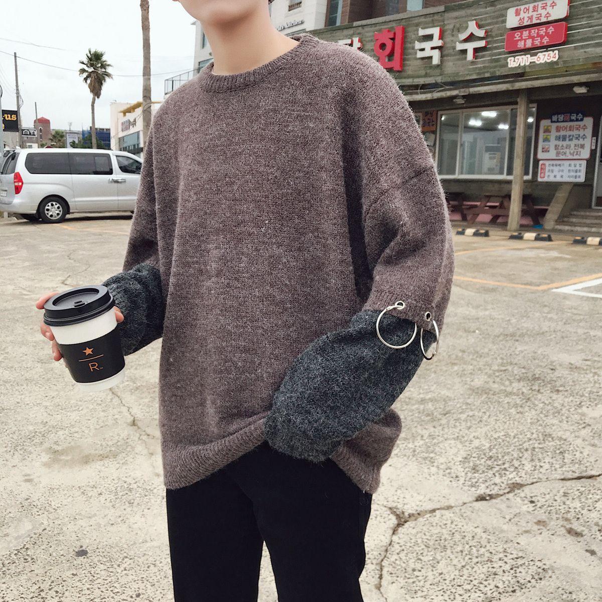 Winter korean fashion men photos