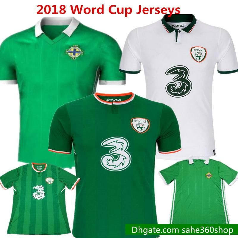 941de1a22 2019 2018 Northern Ireland Soccer Jerseys Thailand Football Shirts 2017  Word Cup Robbie Keane Walcers Lafferty Davis Camisas Green Kids From  Sahe360shop