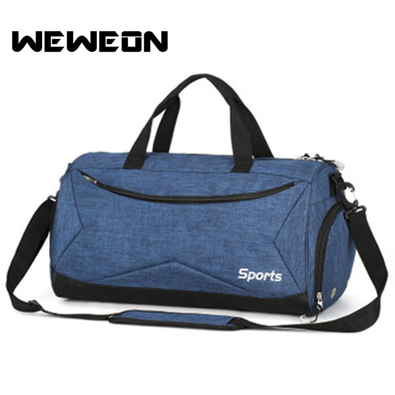 049879b16d5 2019 New Waterproof Single Shoulder Sport Gym Bag For Shoes Storage Men  Gymnastic Handbag Crossbody Women Fitness Yoga Training Bags From  Ekuanfeng, ...