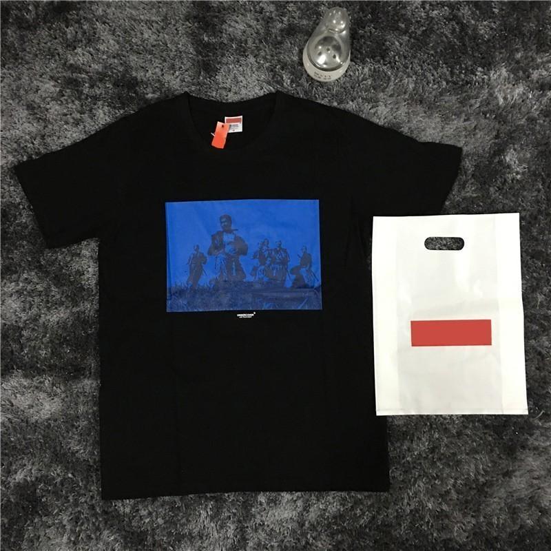 ae834f4657ca 17SS S Fashion UNDERCOVER SEVEN SAMURAI TEE Collaboration Box Logo  Skateboard T Shirt Men Women Cotton Casual TShirt HFLSTX032 Crazy T Shirts  For Men Cheap ...