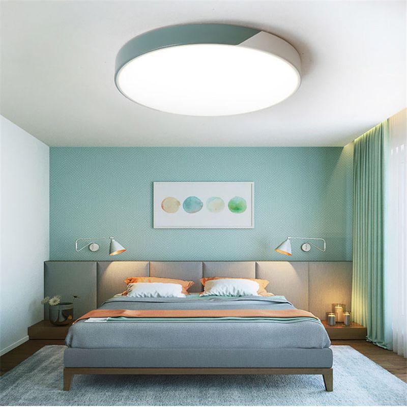 Großhandel 2018 Neue Moderne Ultradünne Doppelte Farbe Led