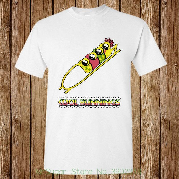 7172c1617f Cool Runnings Jamaican Bobsled Movie New T Shirt Unisex Harajuku Funny Men Tee  Shirts Vintage T Shirts Band T Shirts From Mrsugarstore, $24.2| DHgate.Com