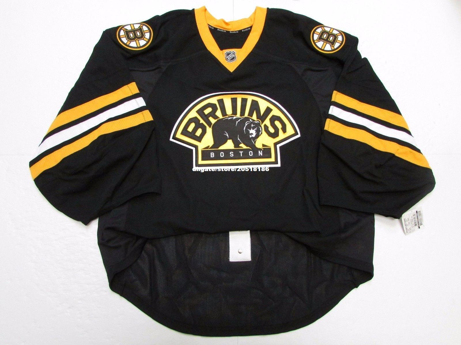 e6a71981c 2019 Cheap Wholesale Custom BOSTON BRUINS THIRD TEAM ISSUED EDGE JERSEY  GOALIE CUT 60 Mens Stitched Personalized Hockey Jerseys From Nfljersey1