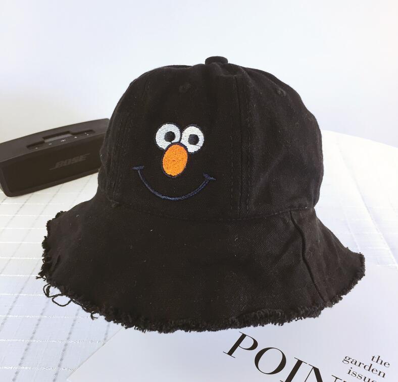 Spring summer cute children hat bucket hats cotton sun hats folding elegant sunbonnets boy girls nice basin hats