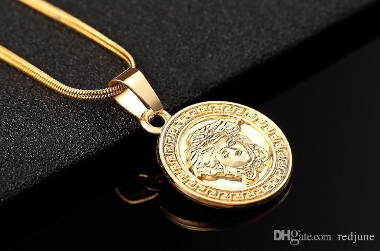Colares de pingente de designer de moda homens new streetwear hip hop colar para homens new arrival homens colar de corrente de ouro frete grátis
