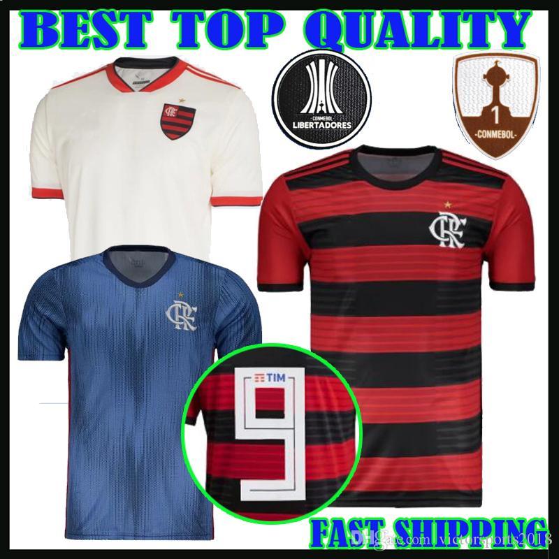 Compre 18 19 Camiseta De Fútbol Flamengo Tercera Azul 2018 2019 Lucas  Paqueta Everton Ribeiro Diego Lucas Paqueta Henrique Vizeu Camisetas De  Fútbol ... a79efc43fb0ef