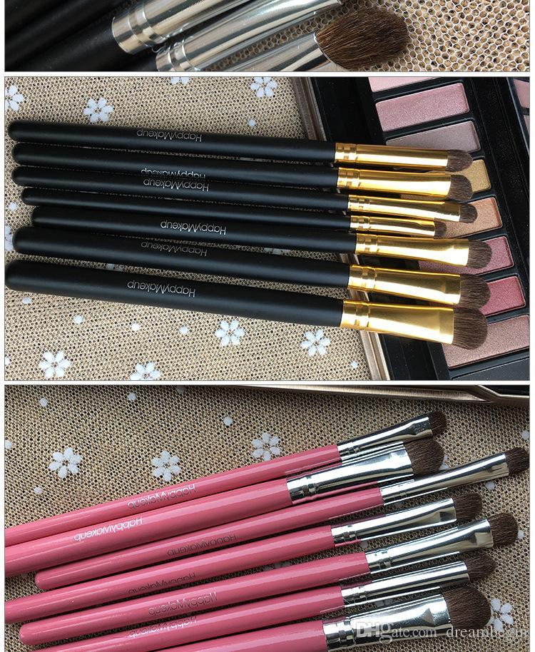 HappyMakeup Makeup Brushes Set Cosmetic Make up Eye shadow Brow Blending smoky Makeup Brush Tool