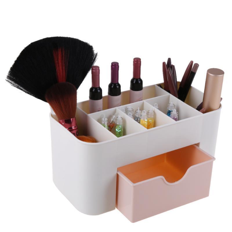 6-grid-mini-makeup-storage-box-cosmetic-desktop.jpg  sc 1 st  DHgate.com & 2018 6 Grid Mini Makeup Storage Box Cosmetic Desktop Lipstick Cases ...