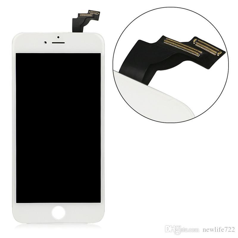 Iphone 6 için Artı LCD Ekran Dokunmatik Ekran Digitizer Meclisi Ile 5.5 Inç Cep Telefonu Ekran Değiştirme Siyah Beyaz Toptan