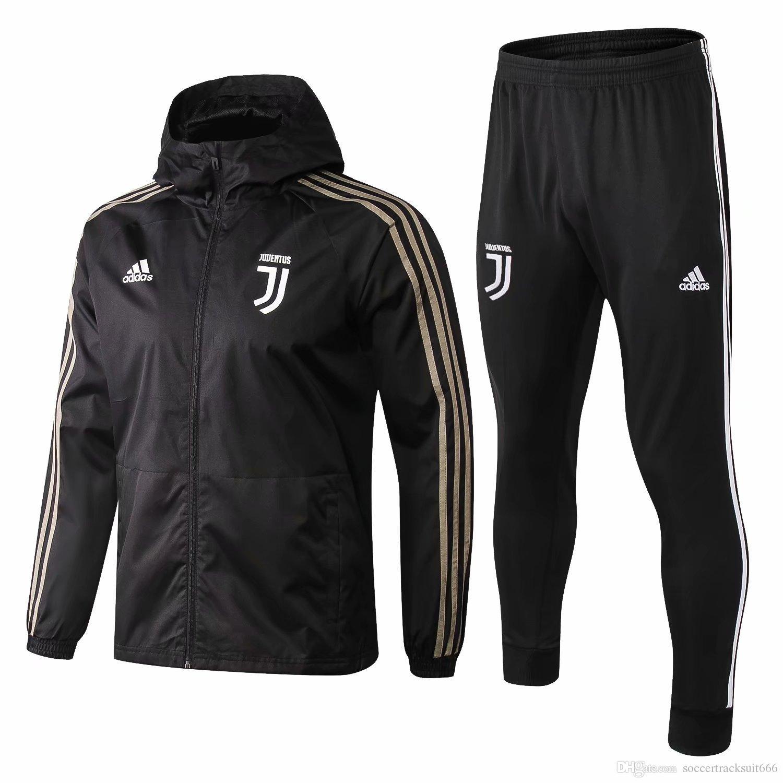 Dybala Entrenamiento Plus Nuevo Con Capucha Ronaldo 18 2019 Full Sudadera Juventus Traje Windbreaker Chándal 19 Zipper Fútbol De Chaqueta aRr6aq