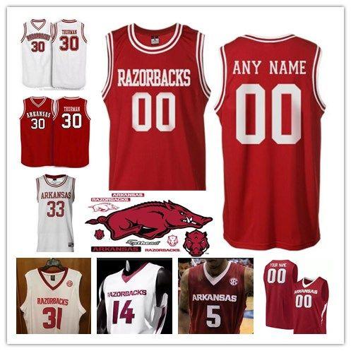 big sale e23bb 8265c arkansas razorbacks basketball jersey