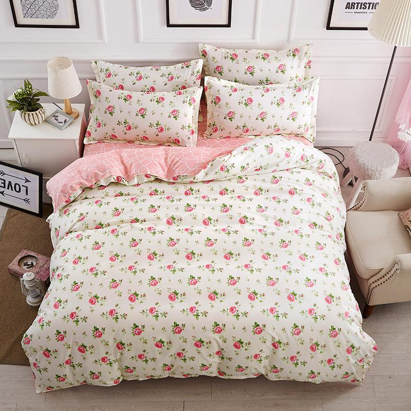 Beautiful Roses Bed Linens High Quality Bedding Set 1 Or 2 Person Duvet  Cover Modern Style Linens King Bedding Sets Twin Bedding Sets From  Happy_xuanxuan, ...