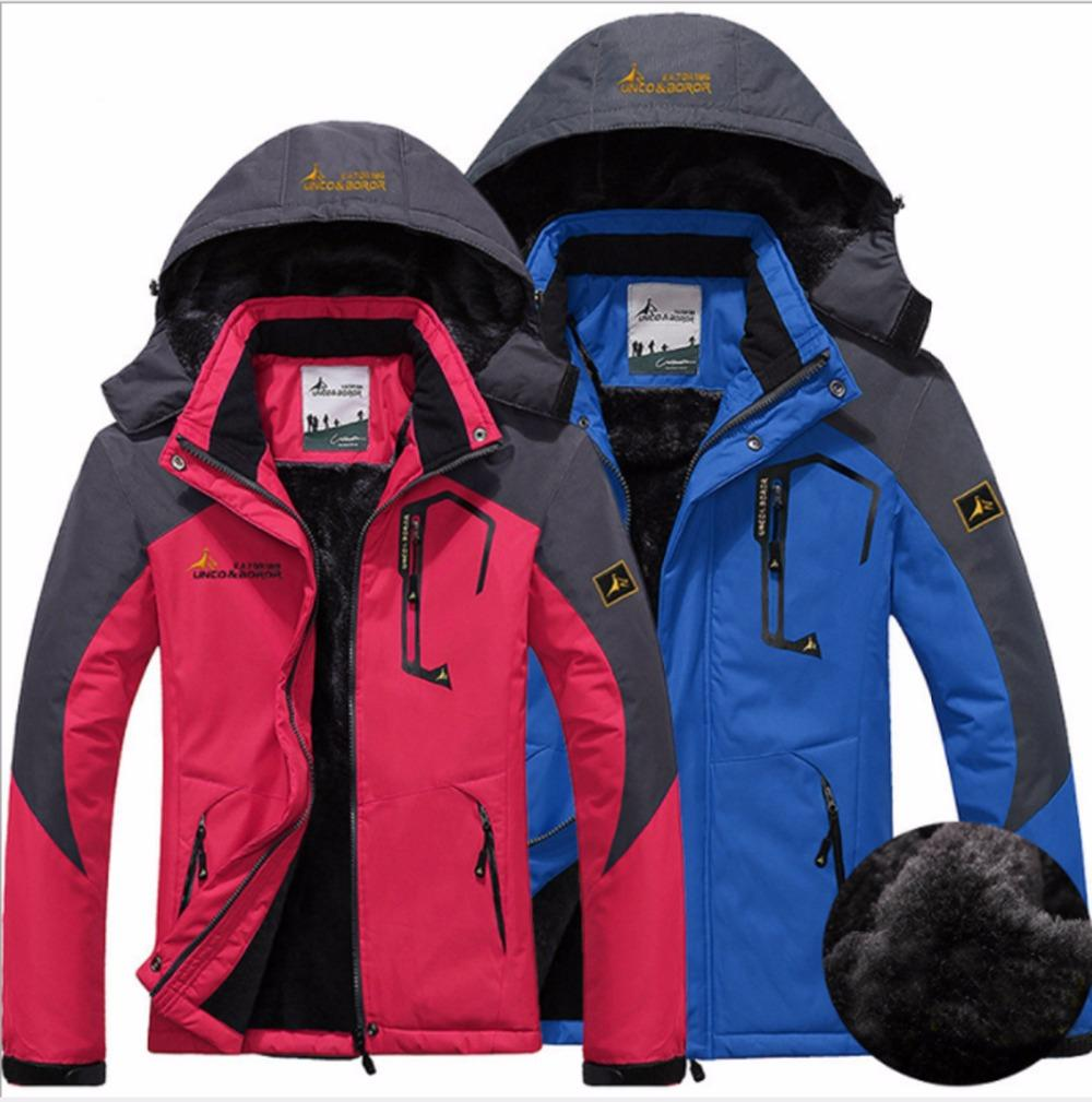 1a6aa3181c 2019 Autumn Winter Outdoor Couples Wram Ski Wear Windproof Waterproof Wear  Resisting Quick Dry Climbing Cycling Skiing Heated Jacket From Teahong