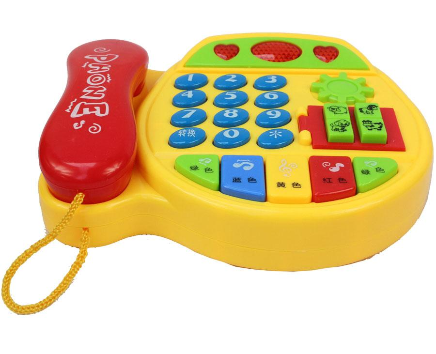 Musical Toys For 1 Year Olds : Childrens telephone early childhood toys baby phone multi function